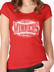 Winners Women's Fitted Scoop T-Shirt