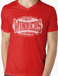Winners Mens V-Neck T-Shirt