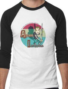 Two-handed Bastard Sword Men's Baseball ¾ T-Shirt