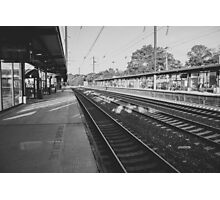 The Train from New Jersey Photographic Print