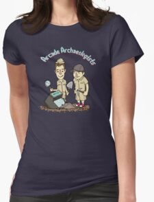 Arcade Archaeologists - Lite Womens Fitted T-Shirt