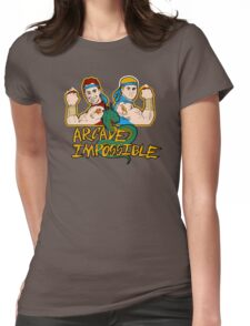 Double Impossible Womens Fitted T-Shirt