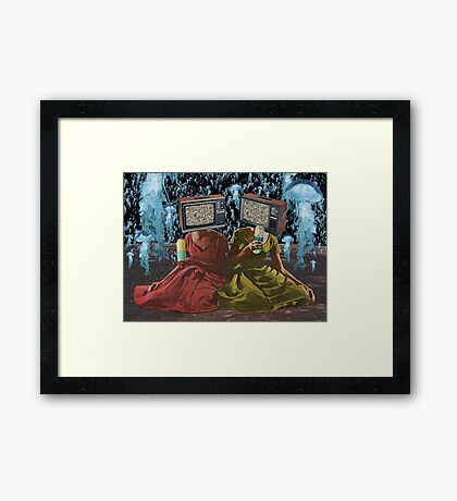 Color Blind Framed Print