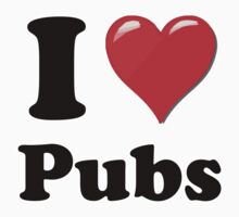 I Heart Pubs by HighDesign