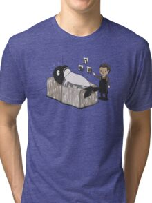 Serial Killer Whale Tri-blend T-Shirt