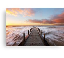 Olivers Hill Spring Sunset Canvas Print