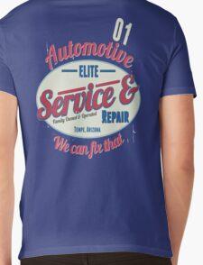 AUTOMOTIVE Mens V-Neck T-Shirt