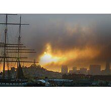 Sunrise Fury Photographic Print