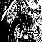 Harley in Mono by EdwardKay