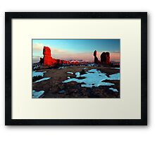 The After Glow Framed Print