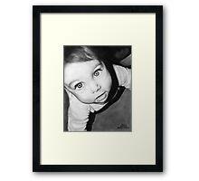 """""""Ven"""" Framed Print"""