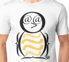 Typographical Penguin Unisex T-Shirt
