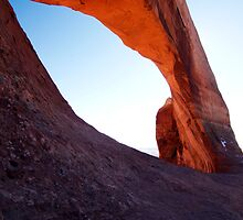Arch In Glow by American Southwest Photography