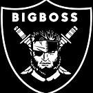 Raiders x Metal Gear Solid - Big Boss (Raiders) by btnkdrms
