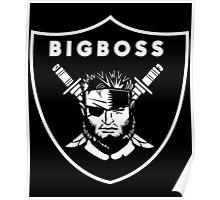 Raiders x Metal Gear Solid - Big Boss (Raiders) Poster