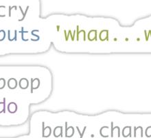 Coding daddies and mommies Sticker