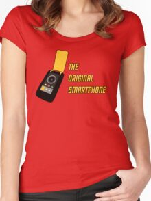 TOS - The Original Smartphone Women's Fitted Scoop T-Shirt