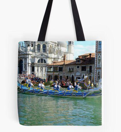 Historic Regatta Tote Bag