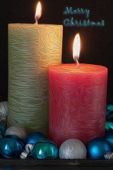 Merry Christmas Card (#CC103) by Karen Duffy