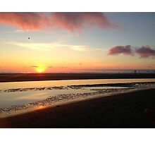 Sunset On Cannon Beach Photographic Print