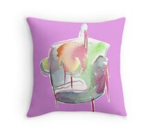 Robot by WRTISTIK Throw Pillow