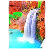 Havasu Falls Grand Canyon Poster