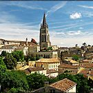"""""""Across the rooftops of St Emilion"""" by mrcoradour"""