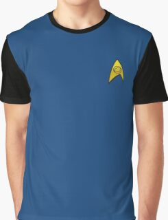 Star Trek Science Uniform Graphic T-Shirt