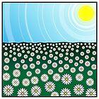 Flower meadow by AhaC