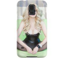 """Katie Dix """"LEATHER""""   Samsung Galaxy Case/Skin"""
