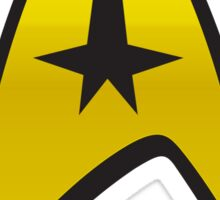 Star Trek Command Uniform Sticker
