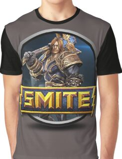 Smite Thor Logo Graphic T-Shirt
