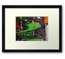 Under the Bridge Framed Print