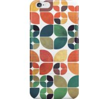 Vintage Fall Pattern iPhone Case/Skin