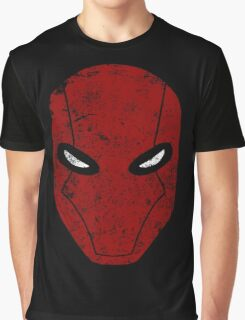 Red Hood Mask  Graphic T-Shirt