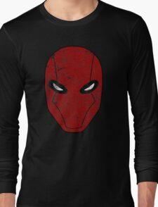 Red Hood Mask  Long Sleeve T-Shirt