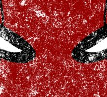 Red Hood Mask  Sticker