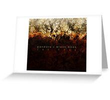 Pandora's Black Book-The Fall  Greeting Card