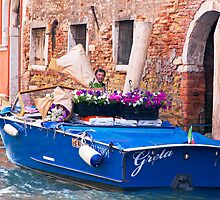 Venice Delivery by Adrian Alford Photography