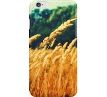 Wheat In The Wind iPhone Case/Skin