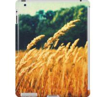 Wheat In The Wind iPad Case/Skin