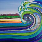 Waves by Coralie Newman by TwoBaysArtGroup