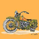 1923 Harley Davidson  by RFlores