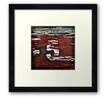-5-- Framed Print