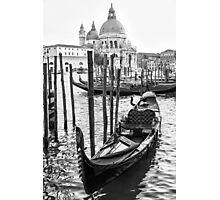 Romance Gondola Photographic Print