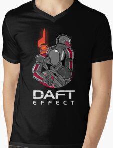 Daft Effect Mens V-Neck T-Shirt