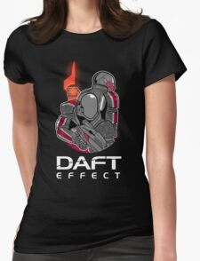 Daft Effect Womens Fitted T-Shirt
