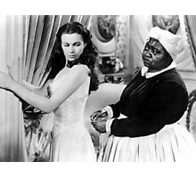 """Vivien Leigh @ """"Gone with the Wind"""" Photographic Print"""