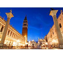St Marks Evening Photographic Print