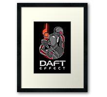 Daft Effect Framed Print